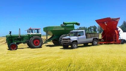 El Nuevo Rastrojero está pensado para el trabajo en el campo y que se complemente con la maquinaria agrícola