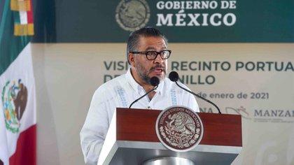 """Horacio Duarte Olivares afirmó que la estrategia puesta en marcha en la frontera norte ya dio resultados: se ha logrado reducir 95% el """"huachicol"""" en todo México (Foto: Cuartoscuro)"""
