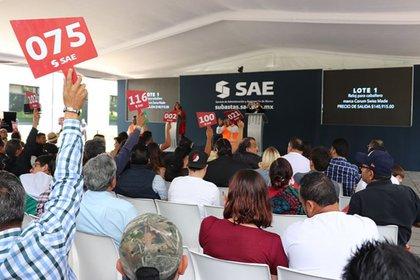 La quinta subasta generó 16,000,000 de pesos (Foto: Twitter/SAE_Mexico)
