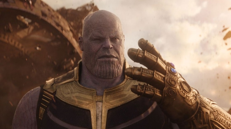 Thanos, el súper villano de Marvel.