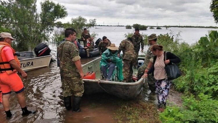 Inundaciones en Entre Ríos (NA)