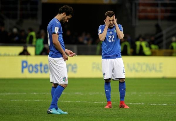 Italia, cuatro veces campeón del mundo, perdió con Suecia el repechaje (Reuters)