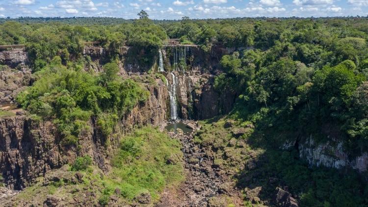 Desde el 2006 que no se registraba una sequía de tal magnitud en las cataratas del Iguazú