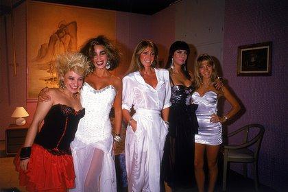 """Junto a Divina Gloria, Beatriz Salomón, Susana Romero y Silvia Pérez, fue una de las llamadas """"Chicas Olmedo"""""""