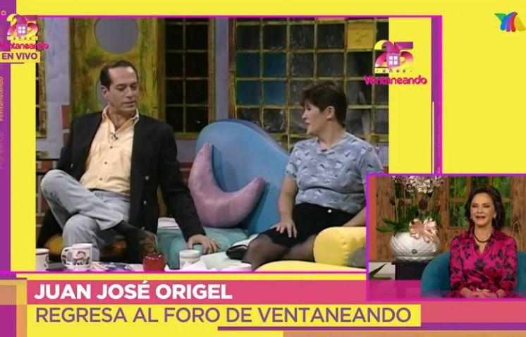 Pepillo Origel y Martha Figueroa en los inicios de Ventaneando