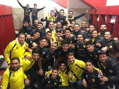 El equipo tuvo un cambio radical con la llegada de Maradona (Foto: @Dorados)