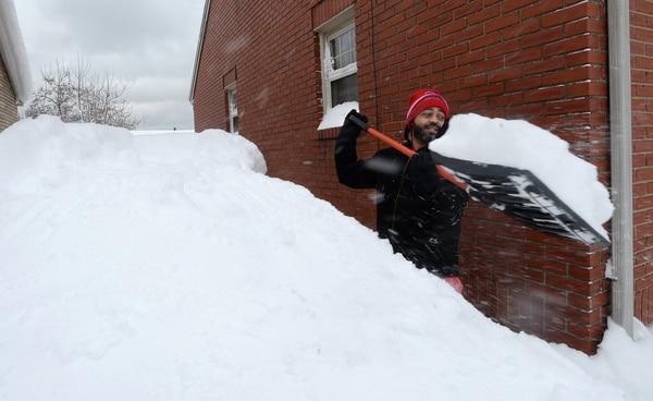 Navidad blanca: las increíbles postales que dejó una poderosa tormenta en Estados Unidos