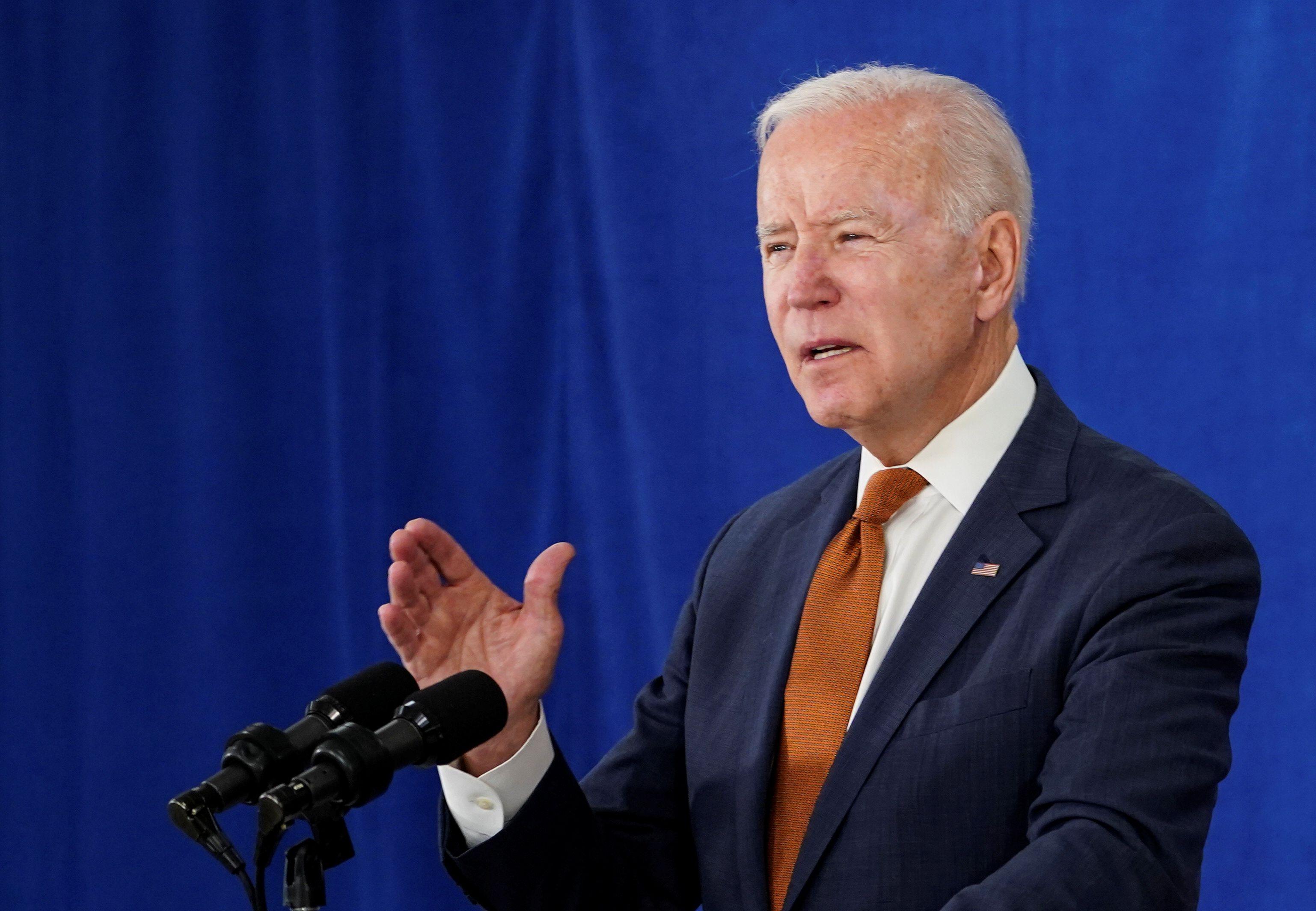 El presidente de EEUU, Joe Biden. REUTERS/Kevin Lamarque