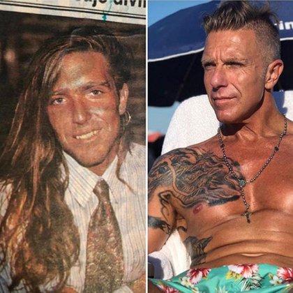 Alejandro Fantino también se sumó al desafío y mostró que hace 10 años tenía el pelo muy largo