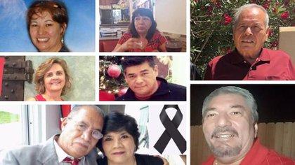 Las imágenes de las víctimas fueron compartidas por familiares y amigos en redes sociales (Foto: Especial)