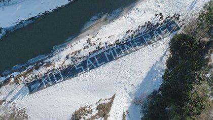 Otra protesta realizada en Chile