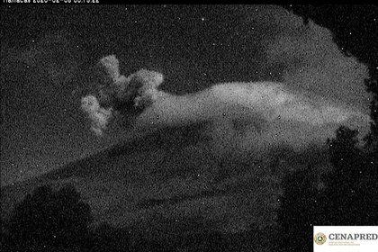 Exhalación Popocatépetl 05022020