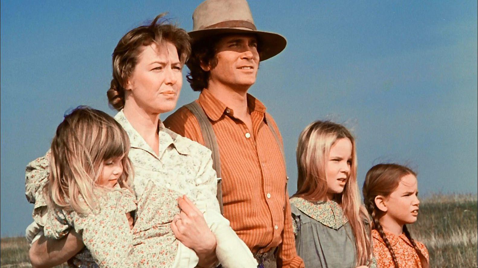 La familia Ingalls está basada en las siete novelas escritas por Laura Ingalls en el siglo XIX,