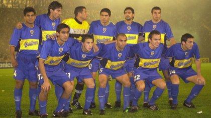 Jorge Bermúdez, Mauricio Serna y Óscar Córdoba hicieron parte del Boca Juniors cuando se consagró ante Palmeiras en el 2000. (FotoBaires)