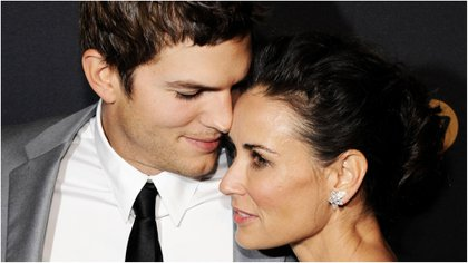 Ashton Kutcher y Demi Moore estuvieron ocho años juntos. (Foto Archivo GENTE)