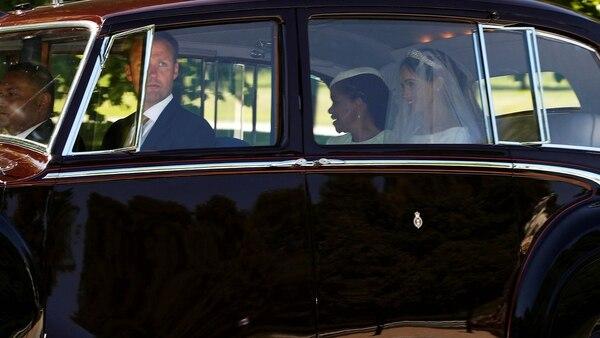 La llegada de la novia (Reuters)