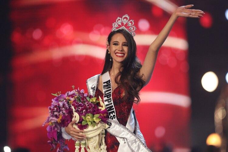 Miss Filipinas cumplió el sueño de su madre de ser Miss Universo REUTERS/Athit Perawongmetha