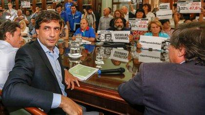 Reunión paritaria en la provincia de Buenos Aires