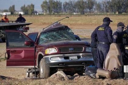 Autoridades mexicanas y locales se movilizaron al lugar del accidente (Foto: REUTERS/Bing Guan)
