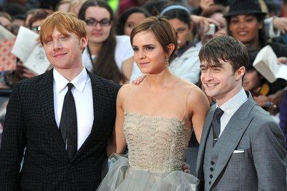 Rupert Grint, Emma Watson y Daniel Radcliffe ( EFE)