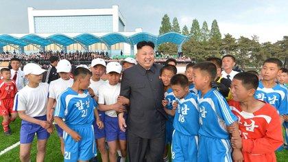 Kim Jong-un busca mostrarse como un impulsor del deporte en Corea del Norte