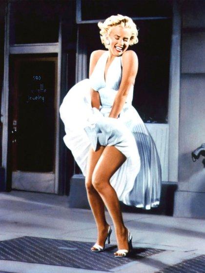 """Marilyn Monroe, con perspectiva masculina, en """"La comezón del séptimo año"""""""