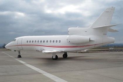 Un avión Falcon 900EX (dassaultfalcon.com)