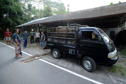 Las operaciones de evacuación en Bali (AFP)