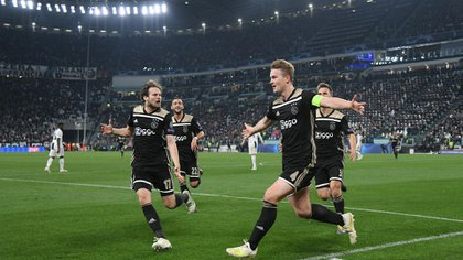 El Ajax eliminó al Real Madrid y a la Juventus de la Champions League (Reuters)