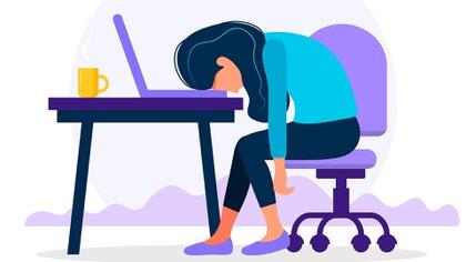 """""""Alguien pudo haber tenido un COVID leve y sin embargo quedar por ejemplo con mucha astenia (cansancio) que puede durar dos o tres meses"""" (Shutterstock)"""