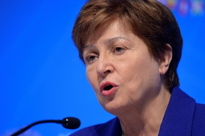 """La directora gerente del FMI, Kristalina Georgieva, aseguró: """"Queremos trabajar con la Argentina hasta que tenga claros sus objetivos de mediano plazo"""" (Reuters)"""
