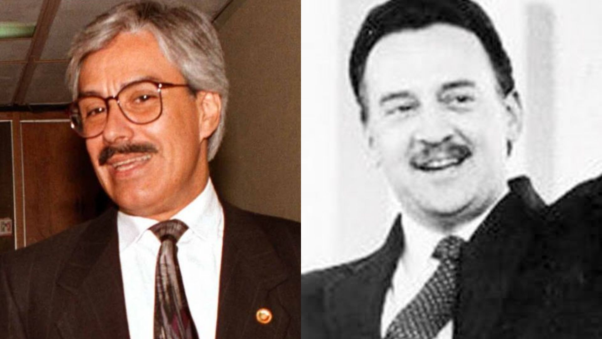 Manuel Muñoz Rocha y José Francisco Ruiz Massieu (Foto: Cuartoscuro)