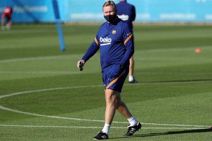 El nuevo entrenador del FC Barcelona espera a Lionel Messi - EFE/Miguel Ruiz/FC Barcelona