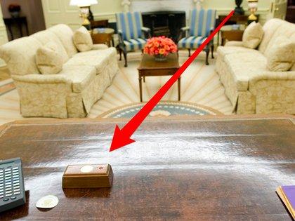 El famoso botón rojo del escritorio (Business Insider)