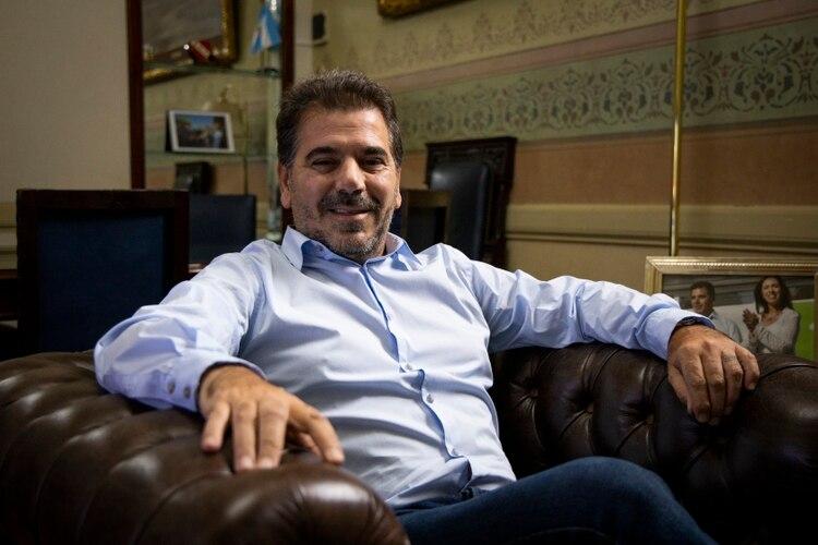 Ritondo tiene en su despacho una foto con Vidal