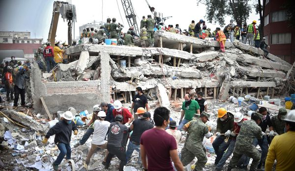 Terremoto en México: hay al menos 50 personas bajo los escombros en la capital, mientras se eleva a 292 el saldo de muertos