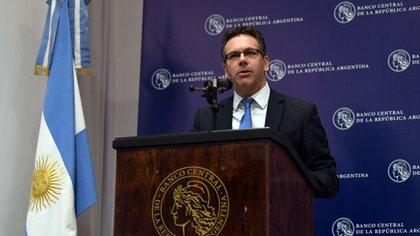 Guido Sandleris está convencido de la capacidad de los instrumentos de política monetaria para reestabilizar los mercados (Maximiliano Luna)