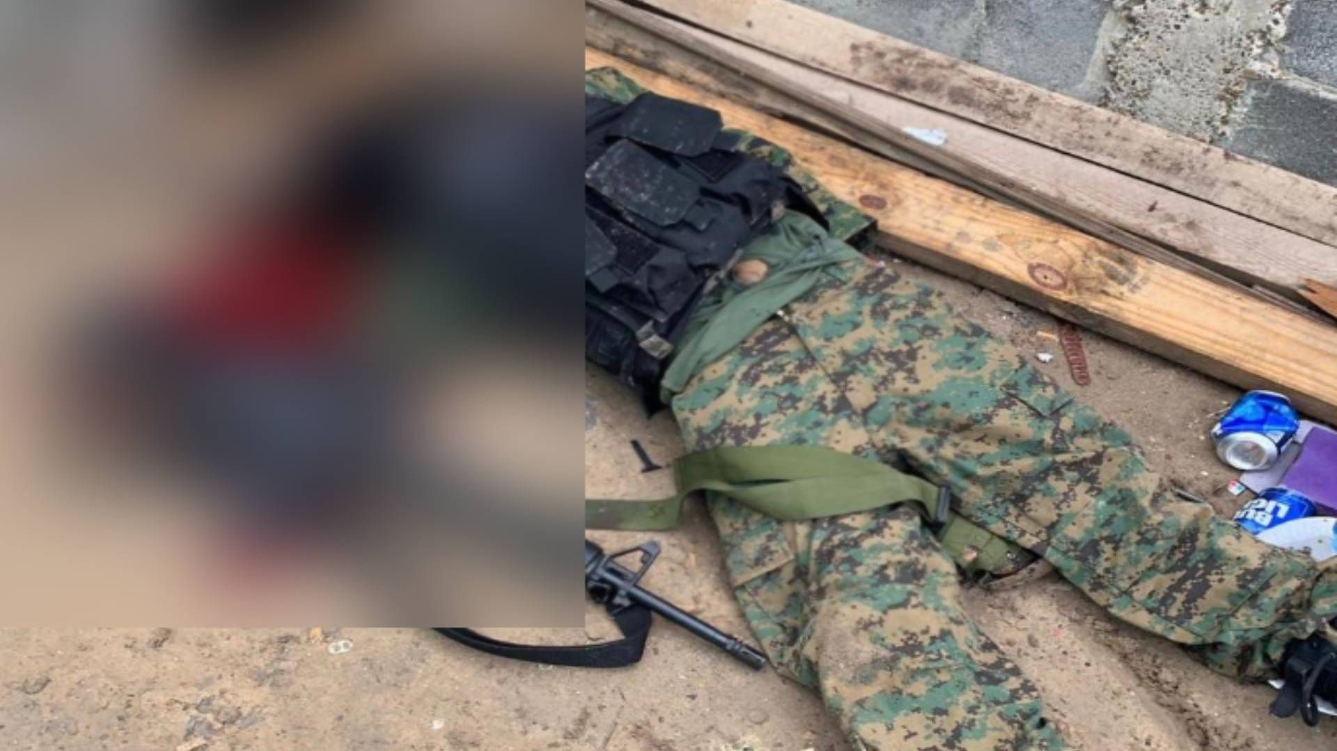 Los sicarios portaban uniformes apócrifos del Ejército (Foto: Facebook)