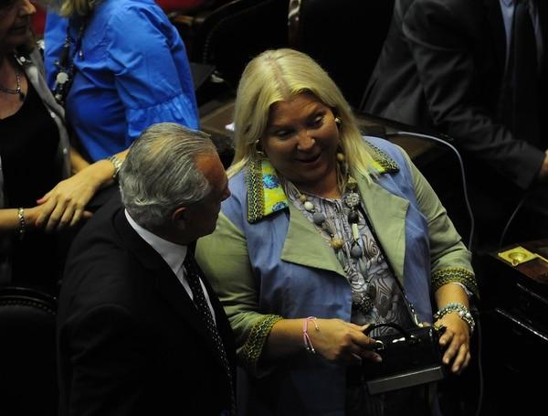 La diputada nacional Elisa Carrió (Maximiliano Luna)
