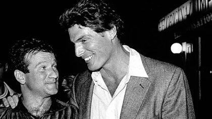 Corría la década del 70 y Williams y Reeve compartieron habitación en uno de los edificios de la escuela Juilliard. Se hicieron amigos.