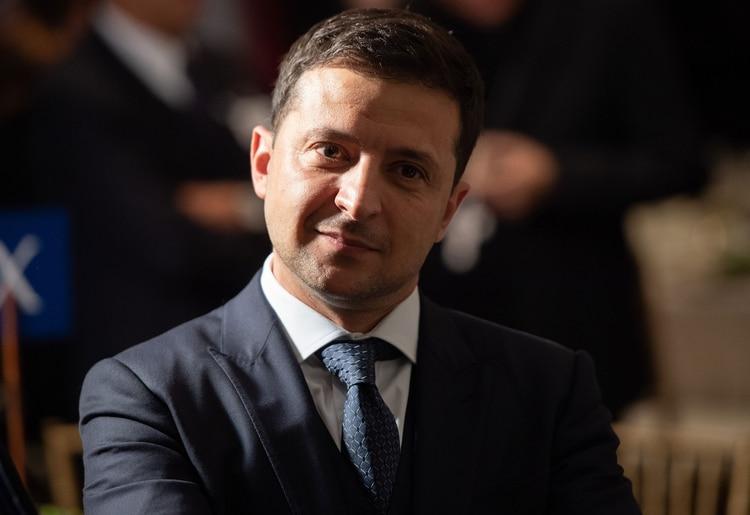 Volodymyr Zelenskiy, presidente de Ucrania (AFP)