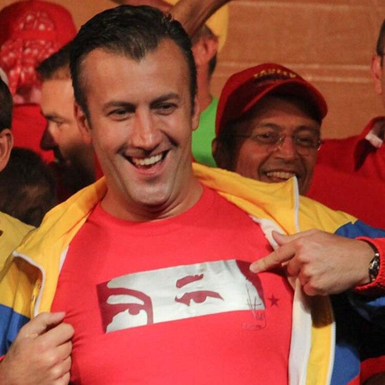 El ex vicepresidente y actual ministro de Industria, Tareck el Aissami, es el líder de la