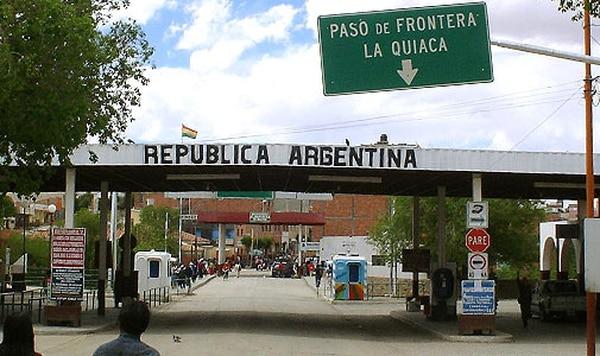 Resultado de imagen para frontera bolivia argentina