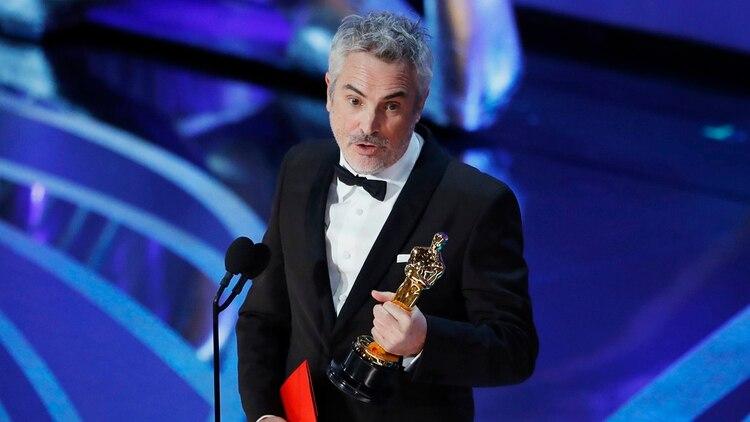 Cuarón ganó tres premios Oscar por su filme autobiográfico (Foto: Reuters/Mike Blake)