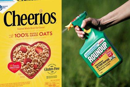 Un estudio alerta que los cereales Cheerios y Quaker contienen glifosato