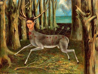 El venado herido, Frida Kahlo, 1946 (Foto: especial)