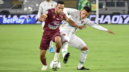 Tolima a battu Patriotas de Boyacá 3-1 au début de la huitième date de la Betplay League.  Photo: Dimayor