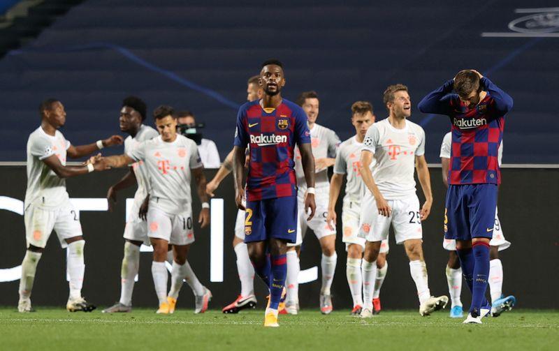 El Barcelona tuvo bajos rendimientos en las últimas temporadas (REUTERS/Rafael Marchante/Pool)