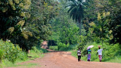 13/09/2014 Varias personas caminando en República Centroafricana POLITICA AFRICA REPÚBLICA CENTROAFRICANA INTERNACIONAL MICHELLE SHEPHARD / ZUMA PRESS / CONTACTOPHOTO