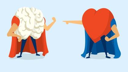 El cerebro y el corazón son los protagonistas estelares de las emociones (Shutterstock)
